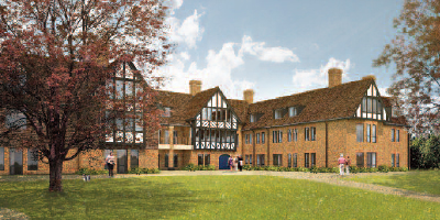 Assistance with planning for an 87-bed care home in Reigate