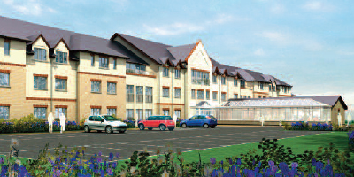 Sale of proposed 82 bed care home