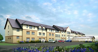Proposed  82-bed turn-key care home in Worcester