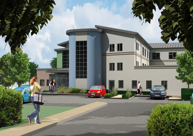 Proposed 70-bed care home, Oxford