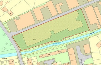 Site with planning permission for 72-bed care home in Warwickshire