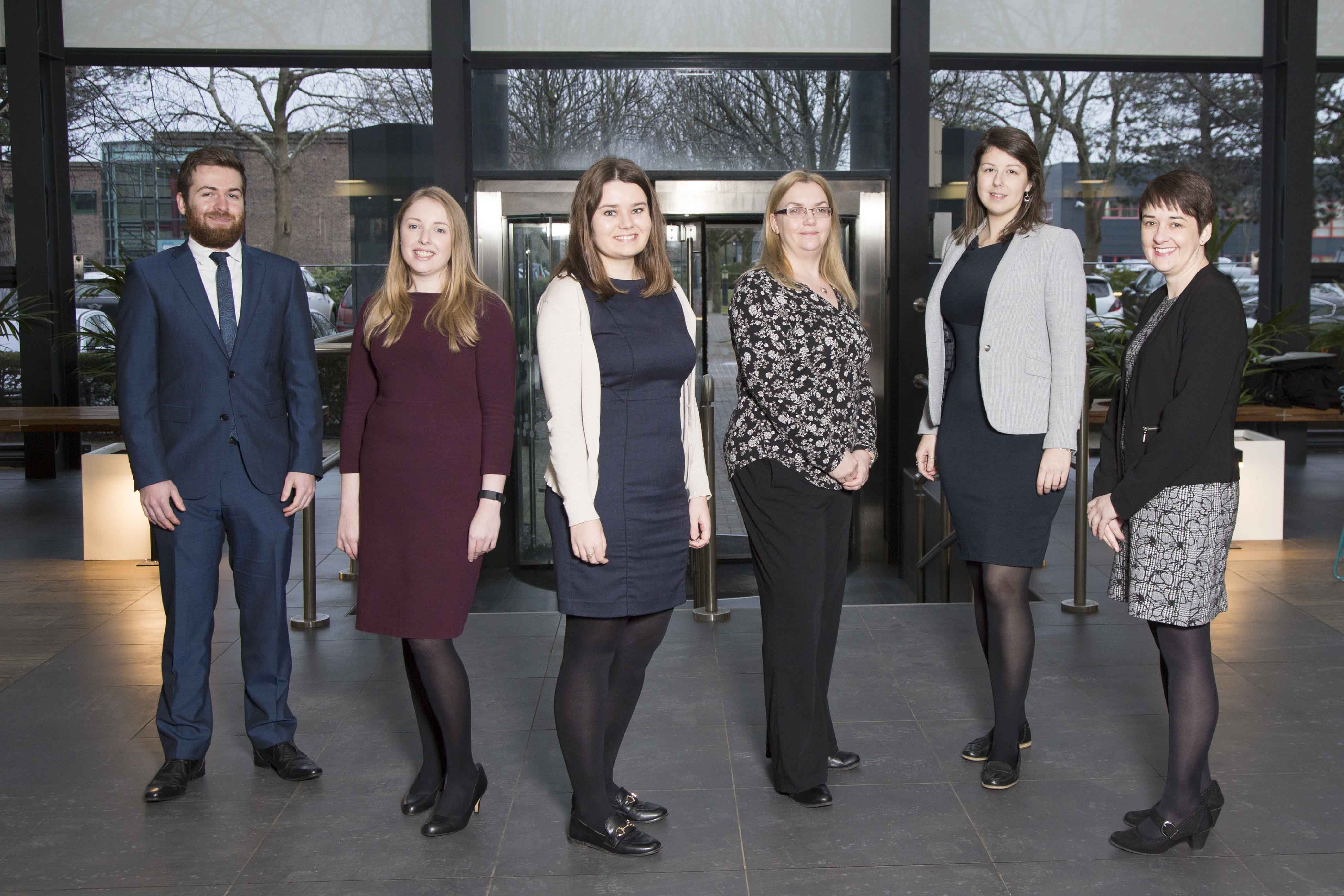 Carterwood promotes six team members after a record year