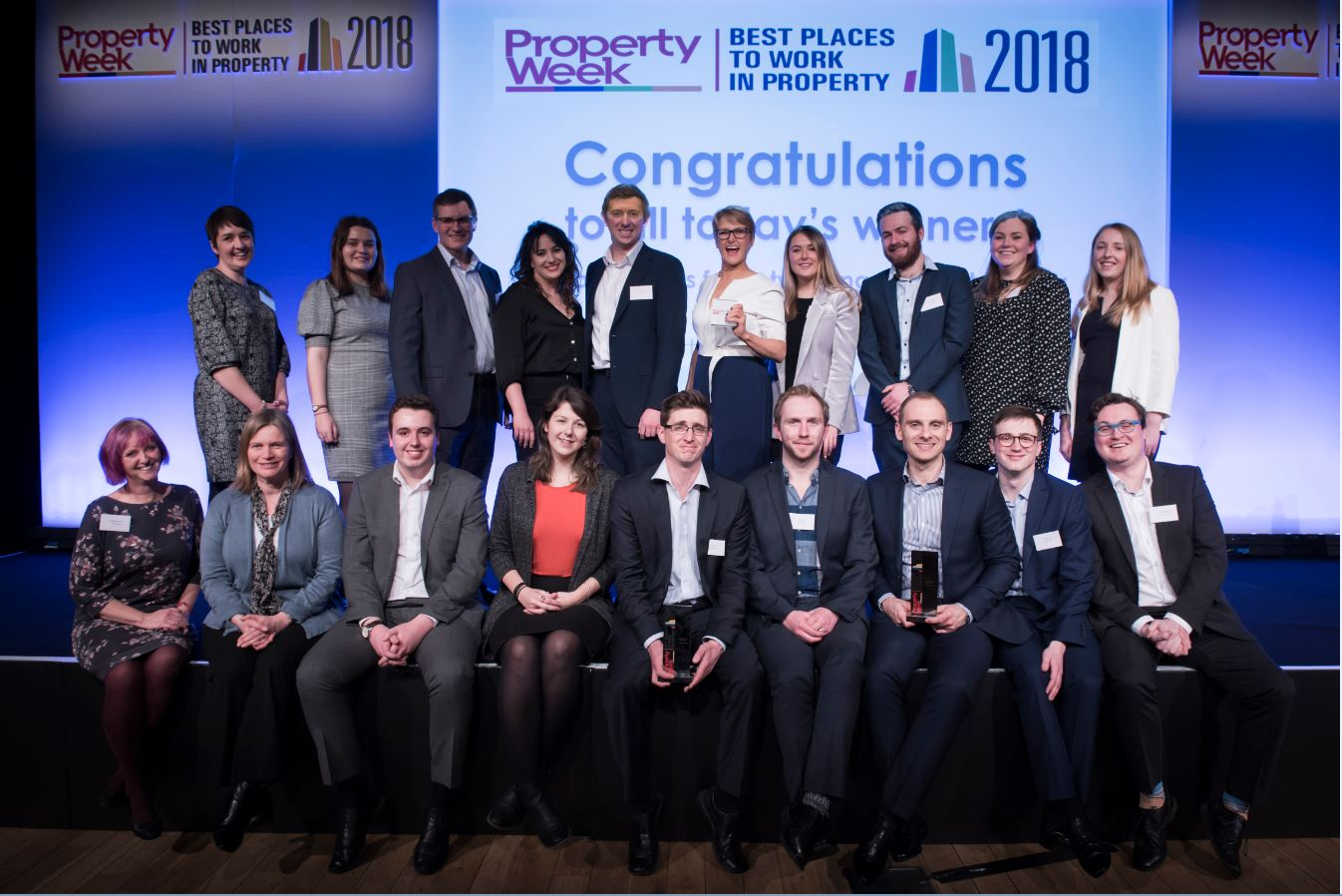 Carterwood named one of the best places to work in property