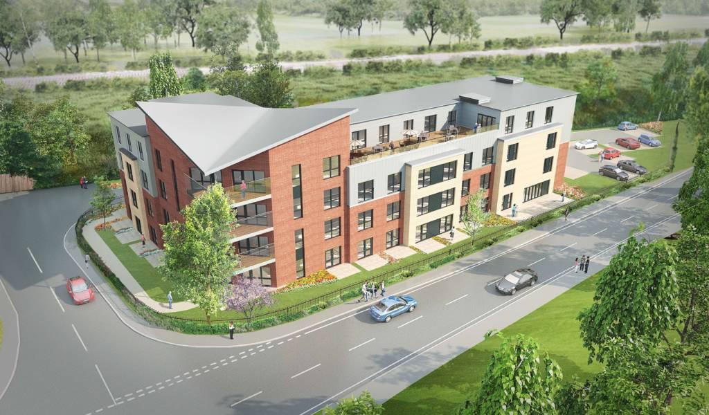 Proposed development site, Oxfordshire