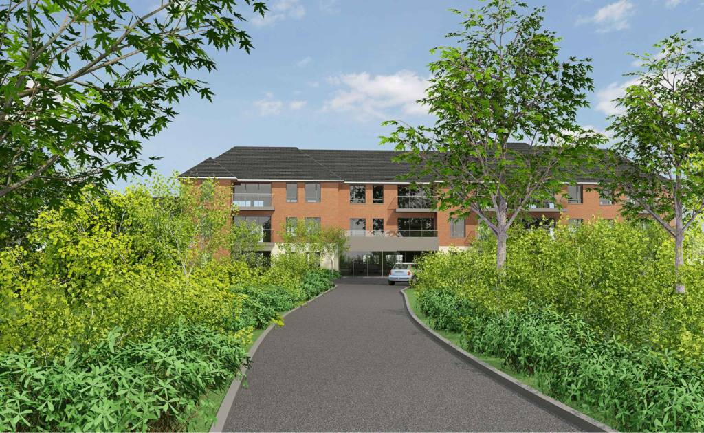 Retirement living site with detailed planning permission