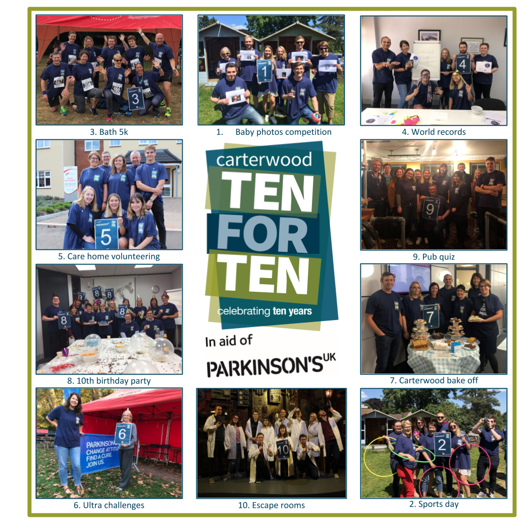 Ten years of success for Carterwood