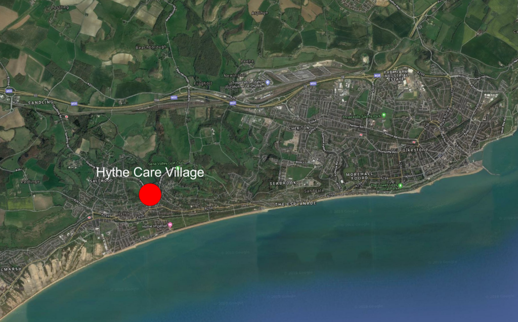 Site with outline planning permission – Hythe, Kent