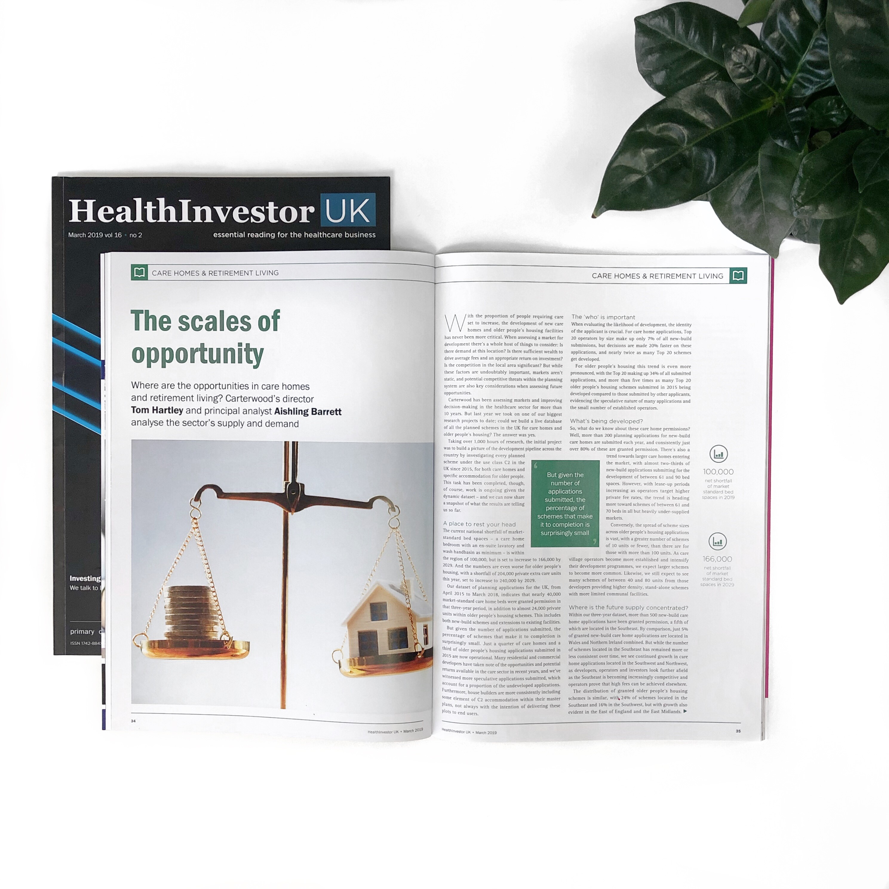 HealthInvestor: The scales of opportunity