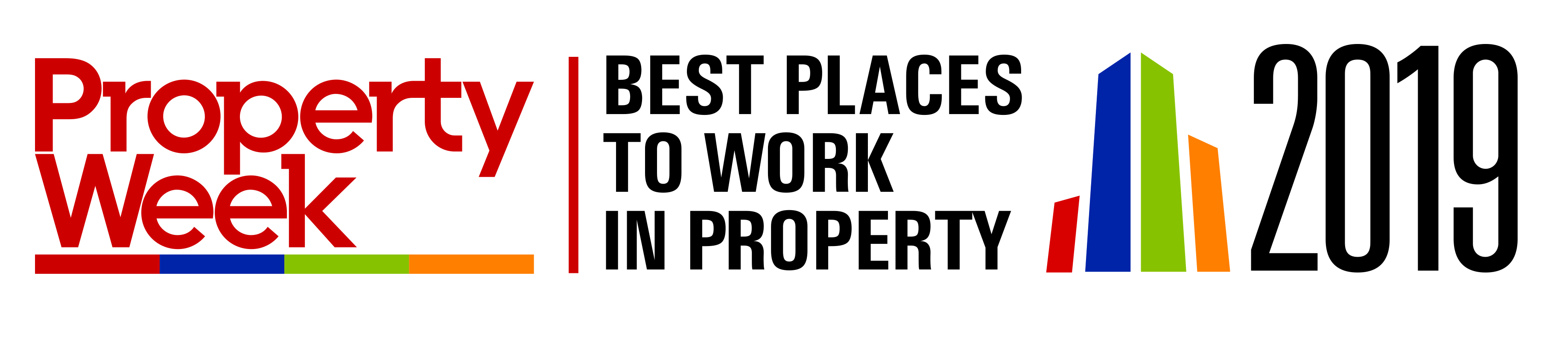 Carterwood's second year of success in Property Week's Best Places to Work in Property awards