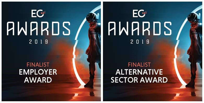 Carterwood shortlisted in two EG Awards 2019 categories
