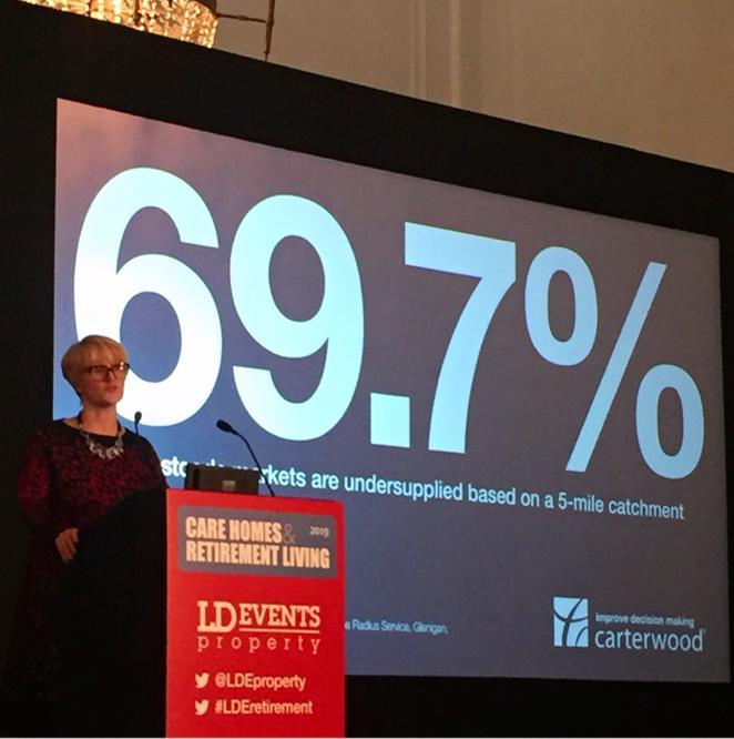 Carterwood sponsors Care Homes & Retirement Living Property conference, 26 November 2019