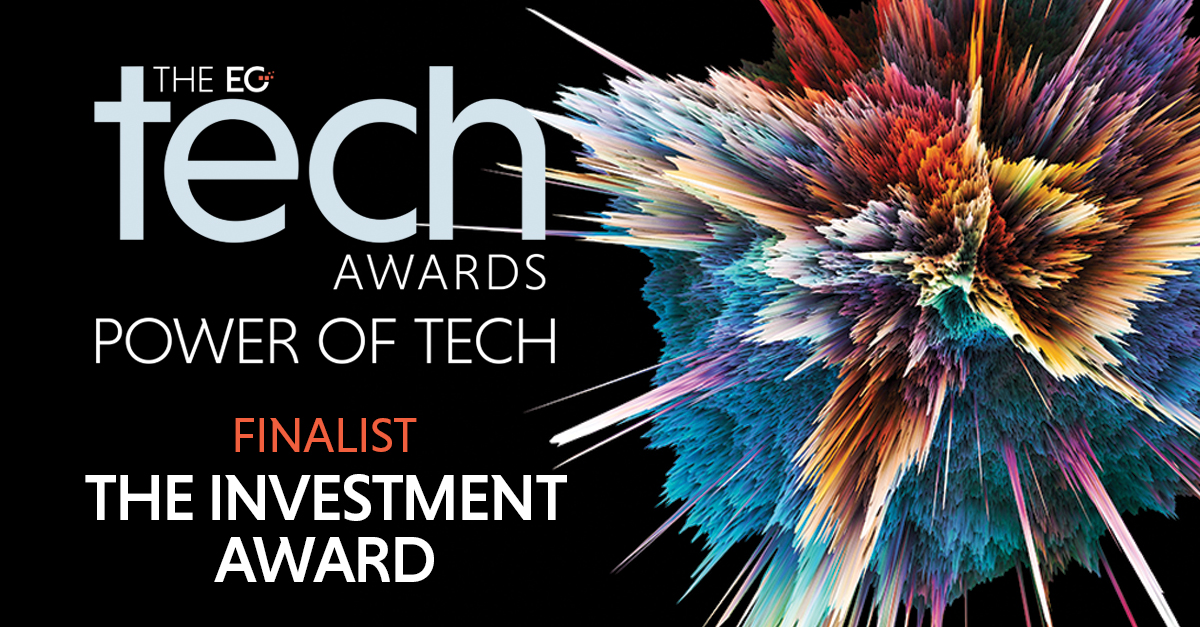 Carterwood Analytics shortlisted for EG Tech Investment Award