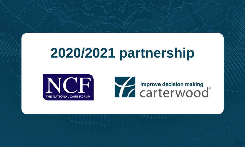Carterwood announce annual NCF partnership for 2020/2021