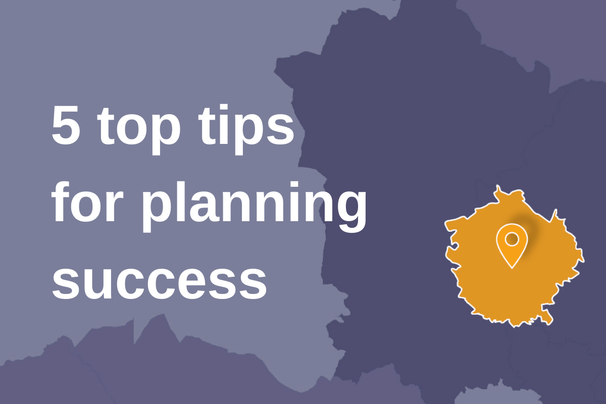Five tips for making your strongest case at planning
