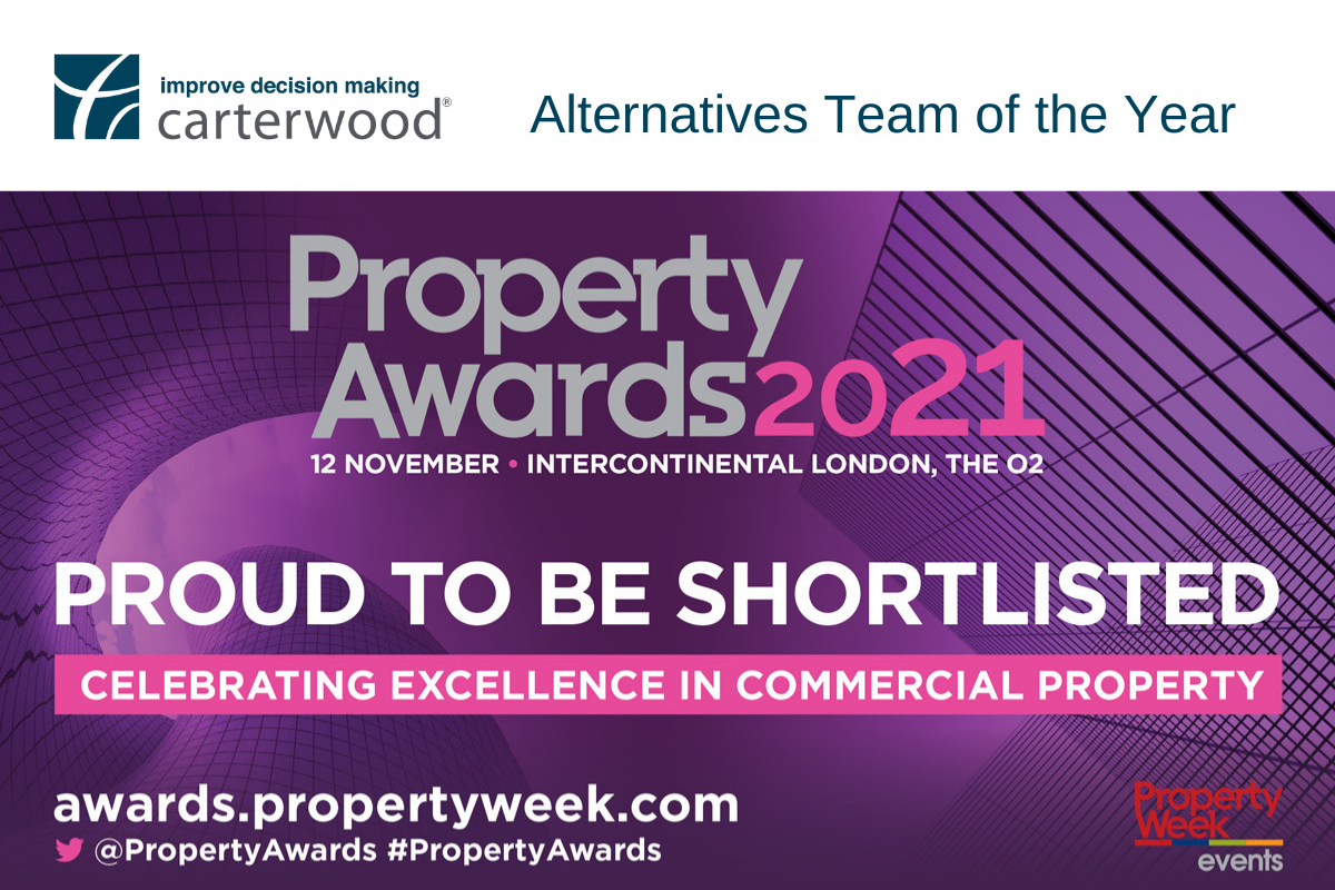 Carterwood shortlisted as finalists for the Property Awards 2021
