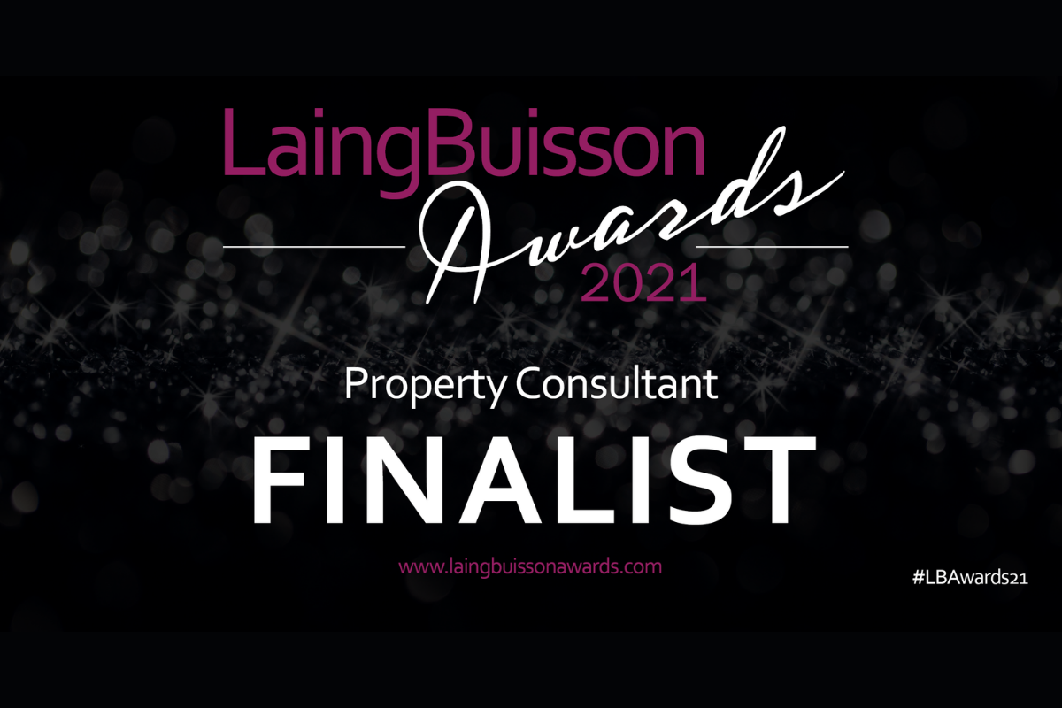 Carterwood shortlisted as Laing Buisson Awards 2021 finalists for 'Property consultant' award
